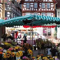 Wochenmarkt in Seligenstadt